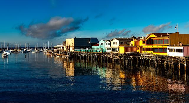 Fisherman´s Wharf em Monterey, Califórnia