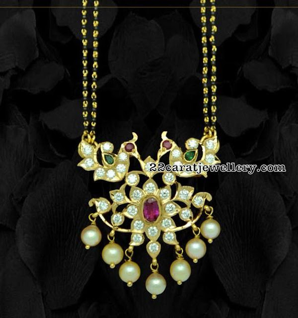 Black Beads Sets or Diamond Mangalsutra