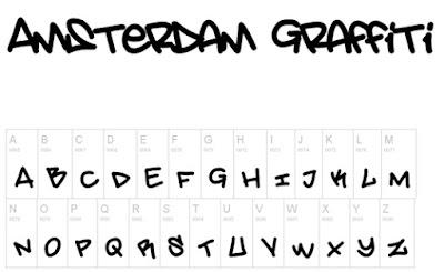 Amseterdam Graffiti Free Font