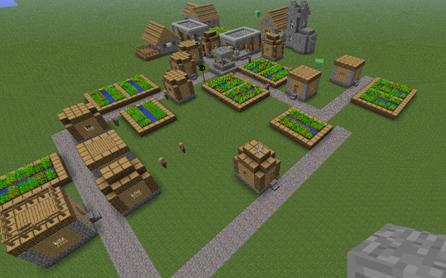 Minecraft Wiz: NPC Villages