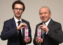 Tom Pellereau & Sir Alan Sugar