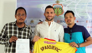 Eks Striker Persib Bandung Gabung Bhayangkara FC