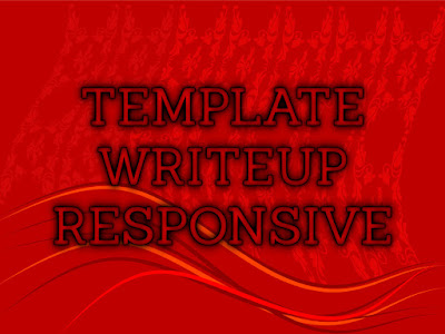 Template Blog Terbaru 2017 Writeup Blogger Template Download Gratis