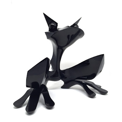 Roadkill Glossy Black Edition Resin Figure by TwelveDot x Pobber