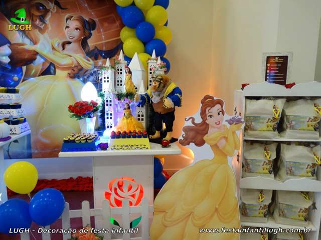 Festa infantil Bela e a Fera