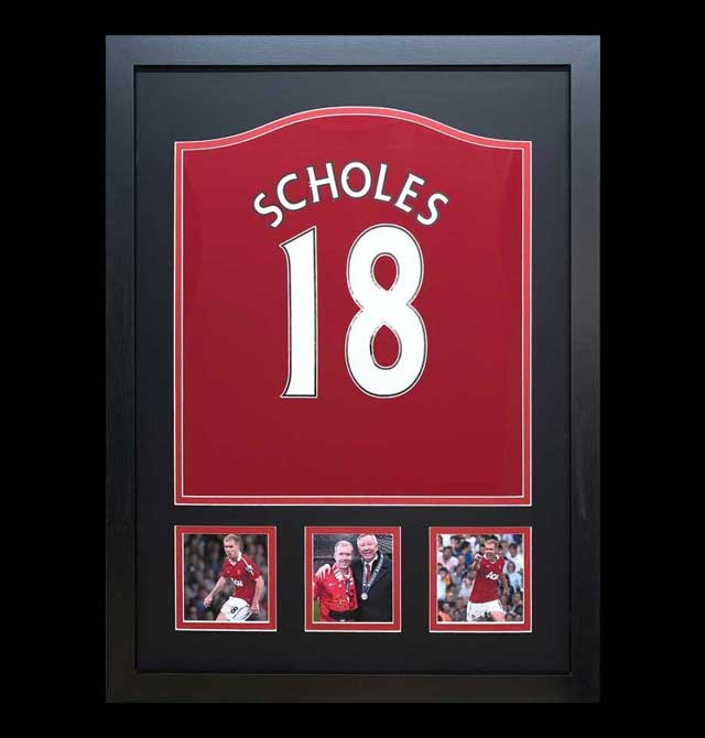 Paul Scholes Signed Shirt
