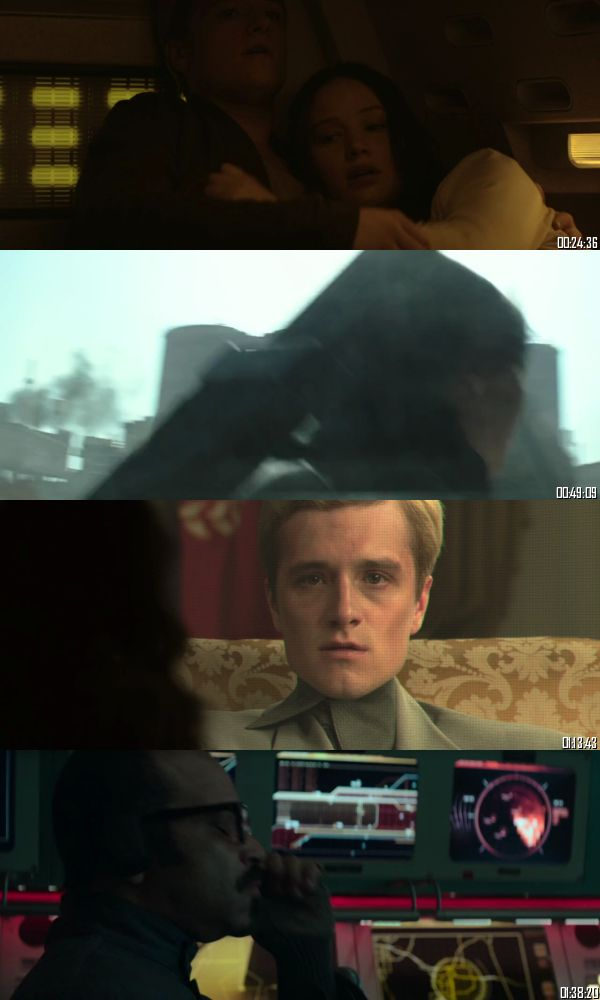 The Hunger Games Mockingjay Part 1 (2014) BRRip 720p 480p Dual Audio Hindi English Full Movie Download