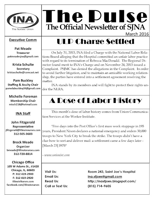 Union Newsletter Mar 2016