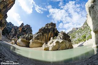 Agua del Pantano Quiebrajano