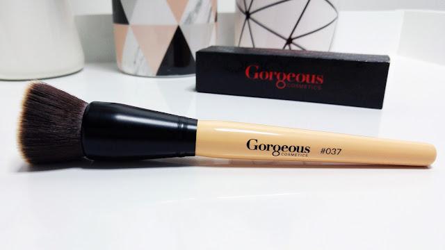 Gorgeous Cosmetics Base Perfect Liquid Foundation, Gorgeous Cosmetics #037 Foundation Brush