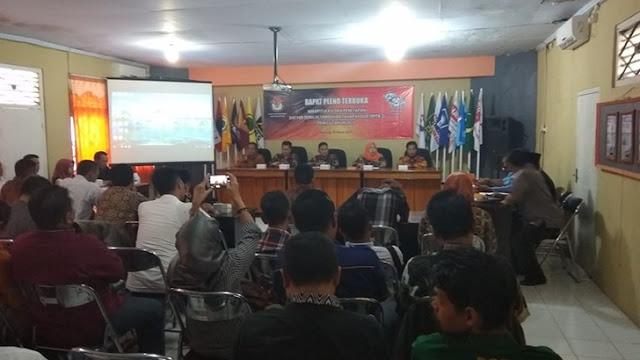 Rapat Pleno Terbuka Rekapitulasi Dan Penetapan Dpthp -2 Pada Pemilu Tahun 2019 Di Kabupaten Batang