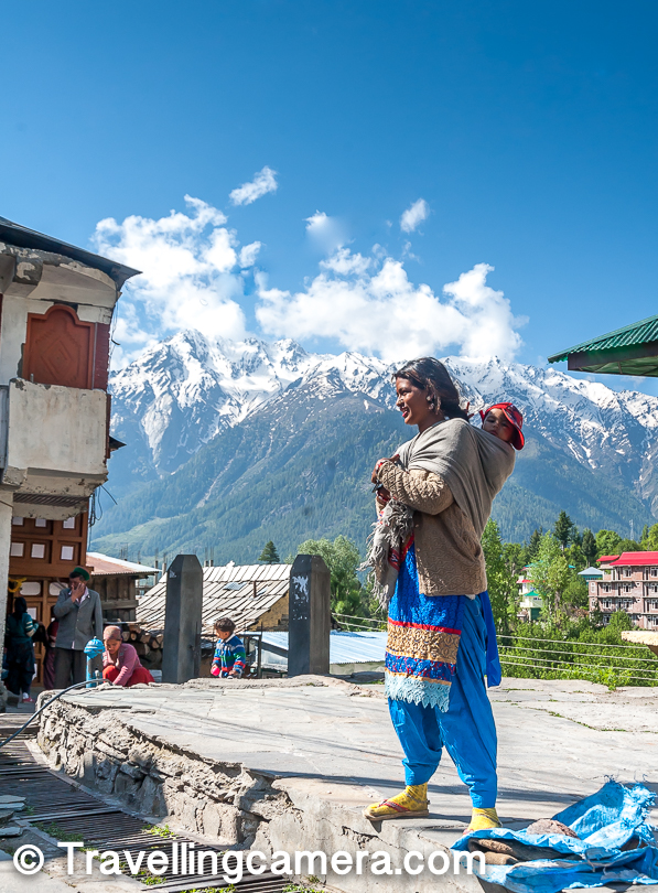 Kalpa is one of the most visited places in Kinnaur district of Himachal Pradesh and especially popular amongst tourists. Lifestyle of people is this region is very different. You would be happy faces all around and involved in agriculture. Apple is main cash-crop of this part of Himachal Pradesh. In fact, Apple from Kinnaur is considered very high quality & mostly exported.