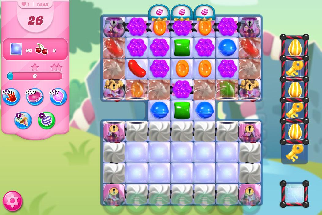 Candy Crush Saga level 7863