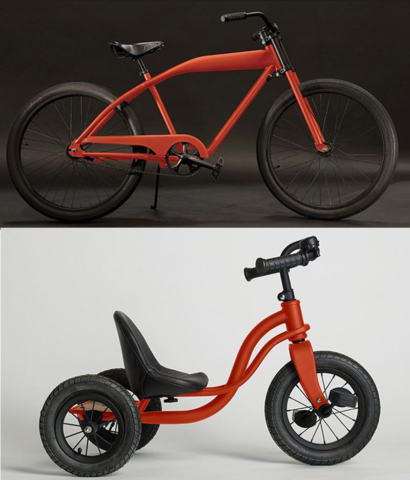 James Perse Bike and trike