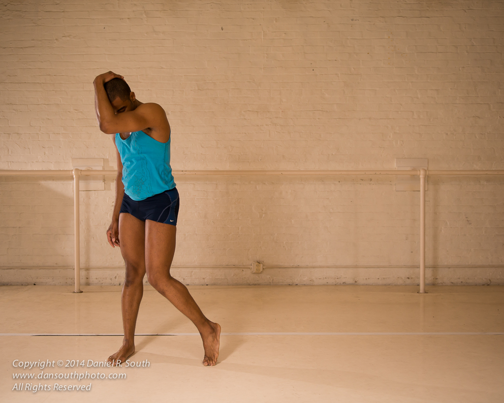 a photo of a modern dancer