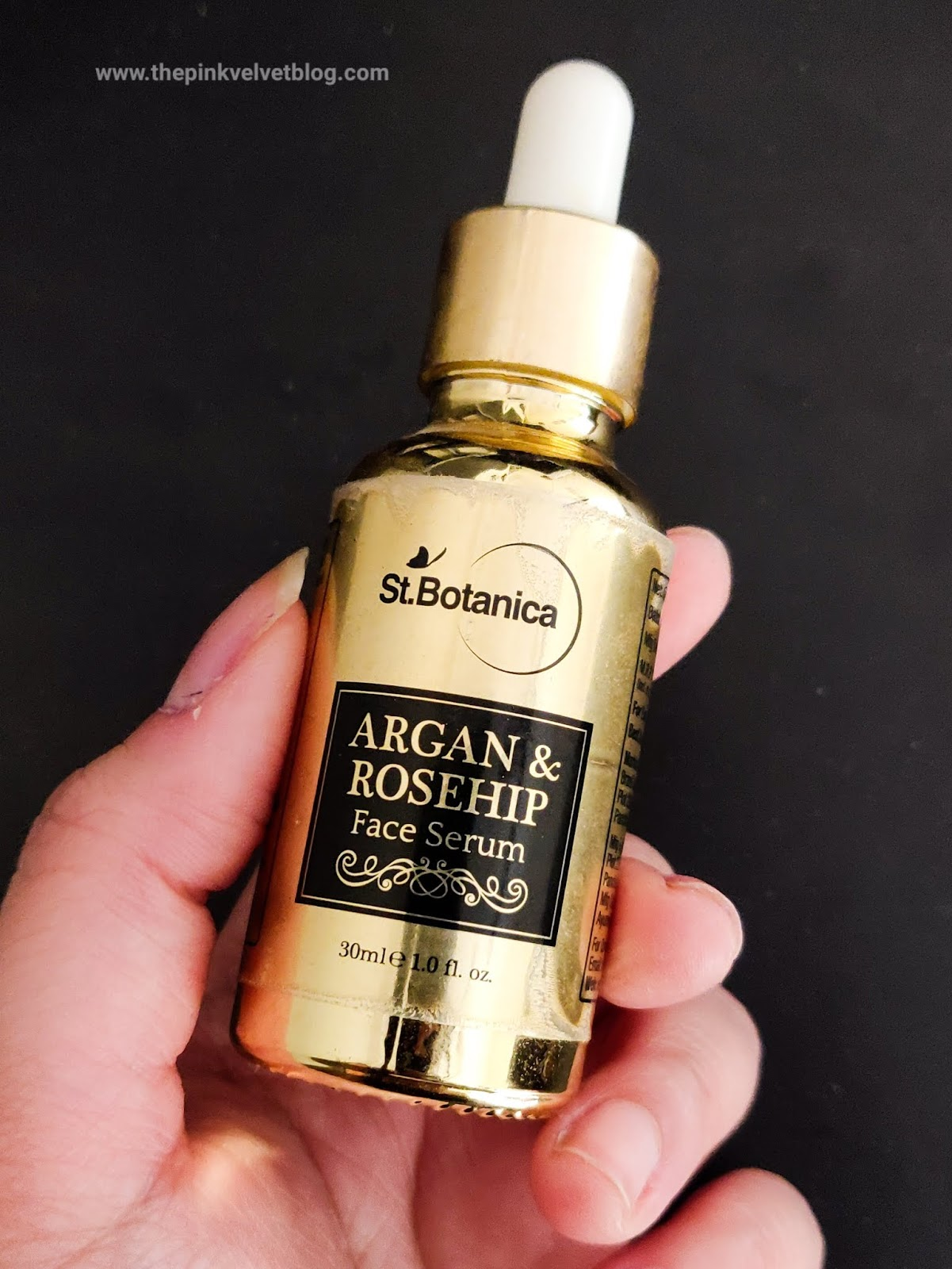 St.Botanica Argan and Rosehip Face Serum - Review