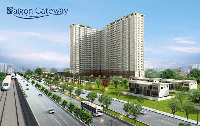 Tổng thể dự án căn hộ Saigon Gateway