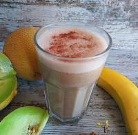 Sin azúcar, rápido, sano y delicioso, Smoothie sin lactosa,