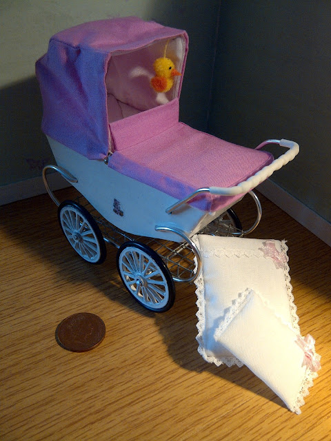 Double Pushchair Pay Monthly Teeny Tiny Things Prams Prams Prams 1 12th Scale