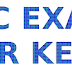 KERALA PSC LDC EXAM THRISSUR ANSWER KEY 01-07-2017