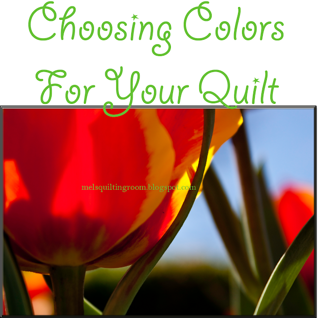 choosing colors for your quilt