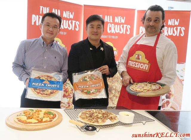 Quick, Fun & Delicious Meals with Mission Foods New Pizza Crusts