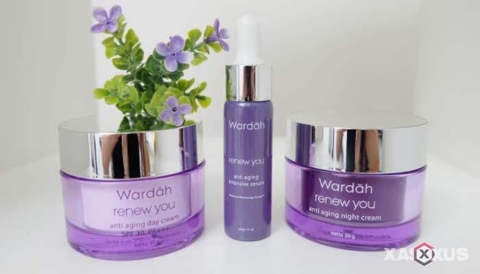 Cream pemutih wajah yang aman dan bagus - Wardah Renew You Day And Night