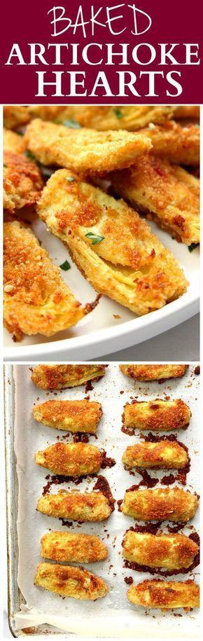 Baked Artichoke Hearts Recipe