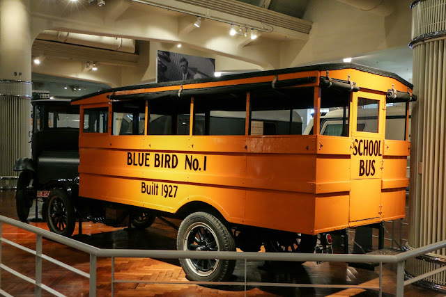 first school bus