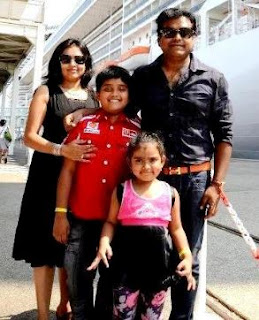 Harris Jayaraj Family Wife Parents children's Marriage Photos