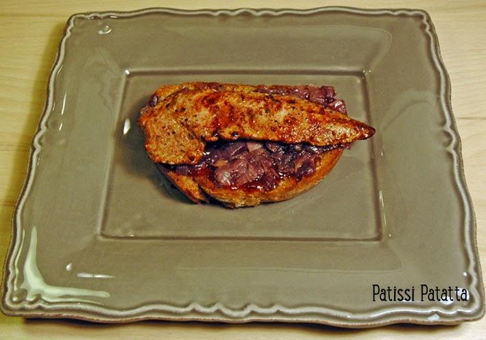 recette de canard à la groseille, duck with currant, recipe duck