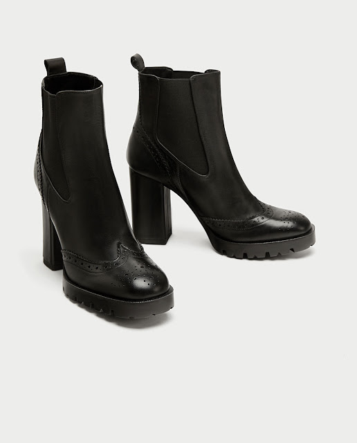 4d66a2fcd5c4 ... shape as the Louis Vuitton boots but obviously without the iconic  monogram. If you want to try the chunky heel trend these boots are a great  option at ...