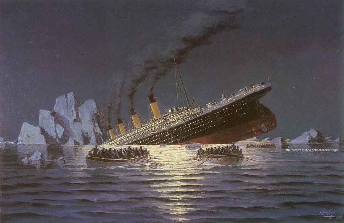 Click on: A HUNDRED YEARS AGO... (THE SINKING OF THE ...