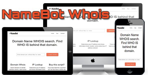 CodeCanyon - NameBot Whois Script v2 2 | software build