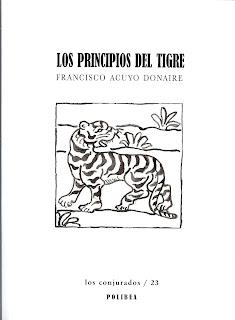 Los principios del tigre, 2ª edición, Francisco Acuyo