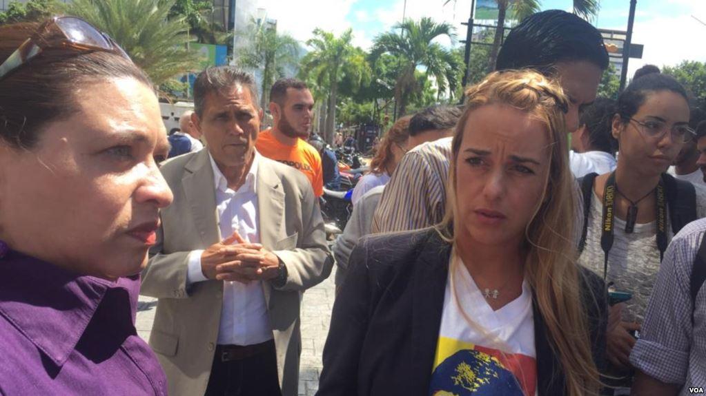 Lilian Tintori, activista de los presos políticos en Venezuela / AP