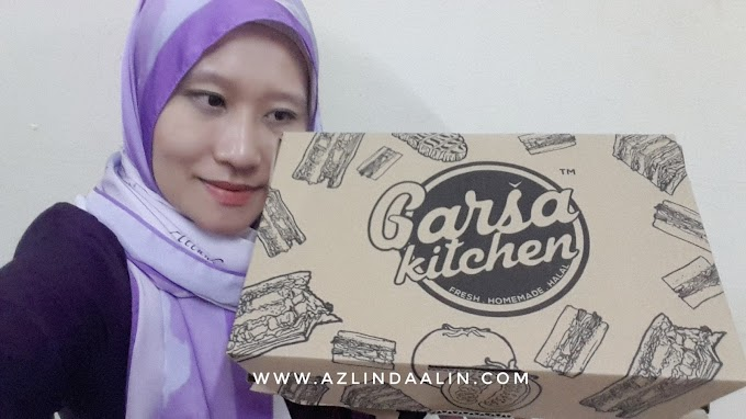 SANDWICH GARSA KITCHEN  SALTED EGG CHICKEN MENU BARU YANG SEDAP