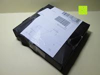 Verpackung: Gorudo Schmuck® - Roh-Jasper Gold filled Halskette Golddipping