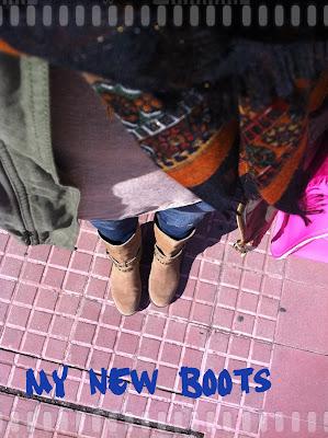 Mis nuevas botas goteras y el descubrimiento de una nueva marca