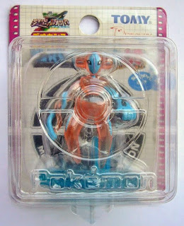 Deoxys figure normal form clear version Tomy MC 2004 movie promo
