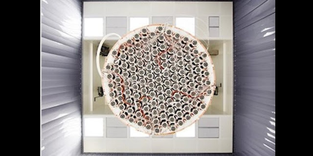 The world's most sensitive dark matter detector demonstrates record low radioactivity levels. Credit: XENON Collaboration