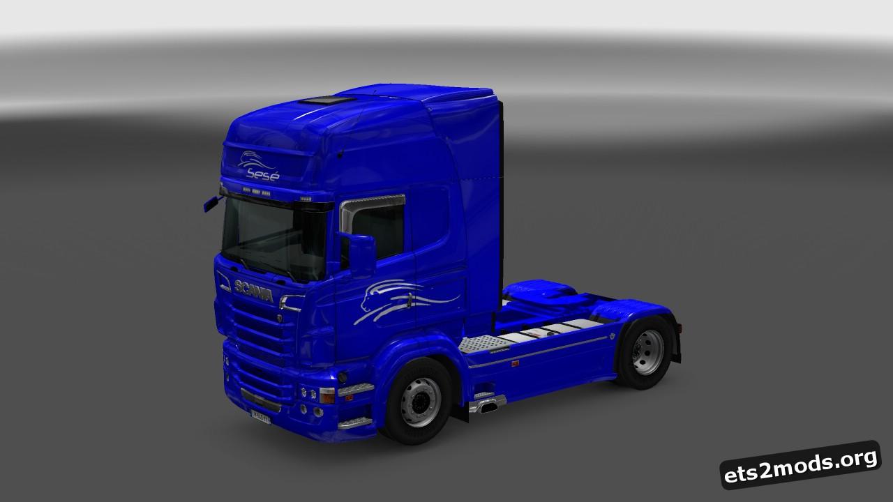 Sese UK Skin for Scania RJL