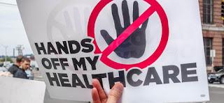 Hands off my healthcare