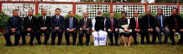 Minister portfolios Mizoram