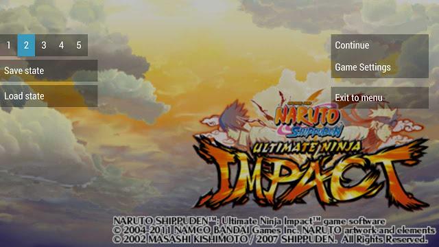 naruto ultimate ninja impact andorid langsung tamat