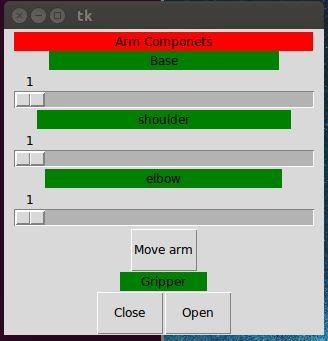 3D Printed Robot: Python + Arduino: GUI Control through Serial
