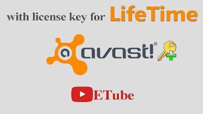 Avast Antivirus License Key for Lifetime