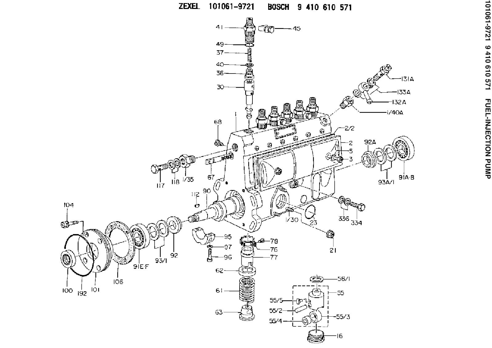 Zexel Injection Pump Wiring Diagram Electrical Diagrams Pin Lucas Cav On Pinterest Sparescode 9410610571 101061 9721 Fuel Kubota
