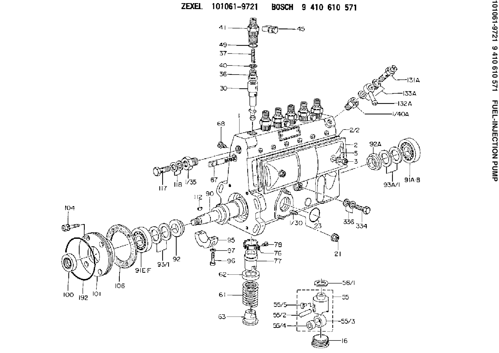 Isuzusel Injection Pump