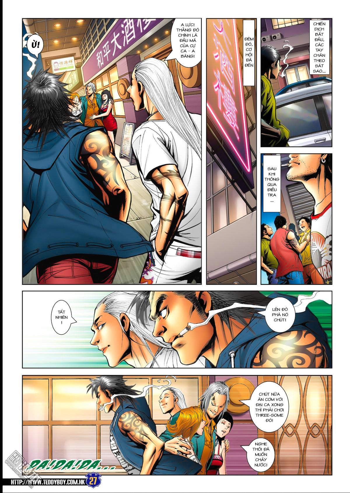 Người Trong Giang Hồ NetTruyen chap 1538 - Trang 23